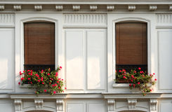 París Windows Imágenes de archivo libres de regalías