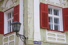 París Windows Fotos de archivo libres de regalías