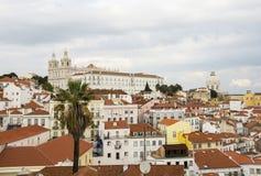 Paróquia de São Vicente de Fora Royalty Free Stock Image