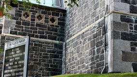 Paróquia, St John & x27 do St Patricks; s, NFLD Fotografia de Stock