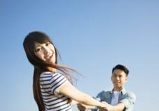 parę miłości szczęśliwe młode Fotografia Royalty Free
