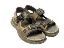 parę sandałów Obraz Stock