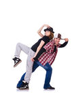 Par av att dansa för dansare Arkivfoton
