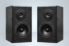 Par av högtalare Arkivbild