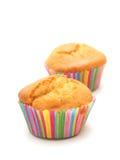 Par av muffin Royaltyfri Foto