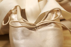 Par av pointes för balettskor Royaltyfri Foto