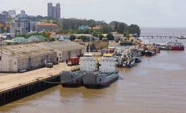 Par av skepp Arkivfoto