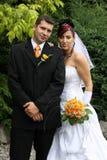 par bröllop Arkivbilder