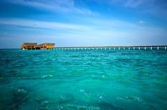 Par de Maldivas Fotos de Stock
