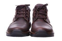Par de sapatos com laços Foto de Stock
