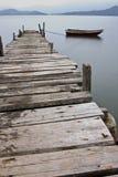 Par e barco Fotos de Stock