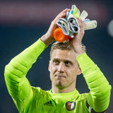 Par Hansson second goalkeeper of Feyenoord Royalty Free Stock Photo