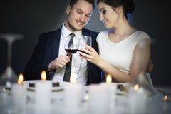Par i dag för valentin` s Arkivfoton