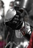 Par l'épée Photo libre de droits