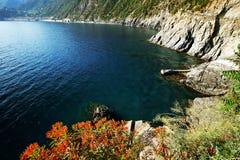 Par l'intermédiaire de del Amore sur la côte ligurienne Image stock