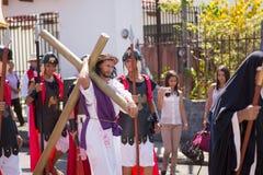 Par l'intermédiaire de la célébration de Crucis Image stock