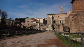 Par l'intermédiaire des sacrum, Roma Image libre de droits