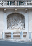 Par l'intermédiaire du delle Quattro Fontane à Rome, Photo stock