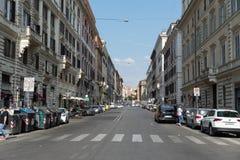 Par l'interm?diaire de Cavour, Rome, Italie photographie stock libre de droits