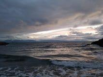 Par la baie Victoria de James avant Jésus Christ Photographie stock libre de droits