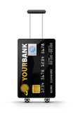 Par la carte de crédit illustration stock