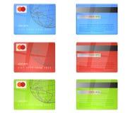 Par la carte de crédit illustration de vecteur