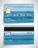 Par la carte de crédit illustration libre de droits