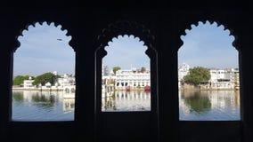 Par la fenêtre indienne Images libres de droits