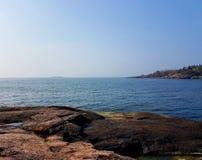 Par la mer Photographie stock libre de droits