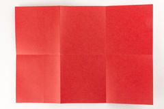 2 par la page de 3 rouges Image libre de droits