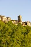 Par la ville d'Ainsa Image libre de droits