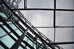 Par le toit Photographie stock
