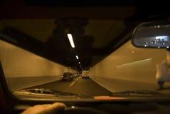 Par le tunnel image libre de droits