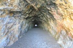 Par le tunnel aux bains de Sutro Photo libre de droits