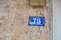 Par les nombres Photo libre de droits