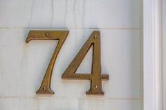 Par les nombres Photos stock