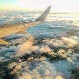 Par les nuages Images stock