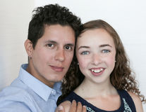 par młodych fotografia royalty free