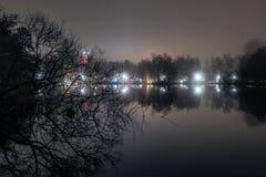 Par nuit images stock