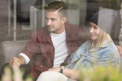 Par på datum arkivfoton