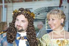 Par på ståta Royaltyfri Bild
