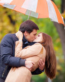 Par på utomhus- Fotografering för Bildbyråer
