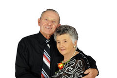 par piękne starsze osoby Fotografia Stock