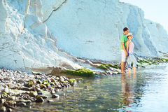 par plażowi potomstwa Zdjęcie Stock