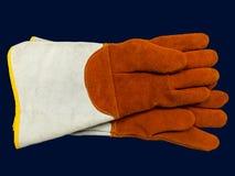 Par pracujące rękawiczki Zdjęcia Stock