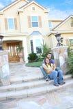 par returnerar att koppla av Fotografering för Bildbyråer