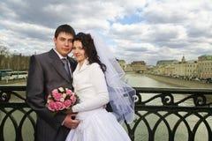 par som att gifta sig bara Royaltyfri Bild
