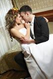 par som gifta sig nytt Arkivfoton