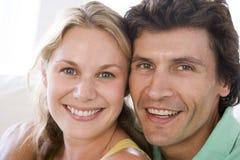 par som tillsammans ler Arkivfoto