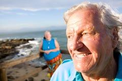par starsze osoby fotografia stock